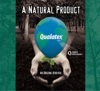 poster qualatex latex produit naturel respect environnement