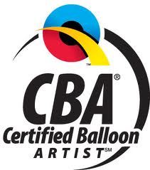 Logo Qualatex CBA Certified Balloon Artist
