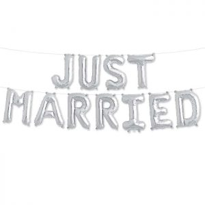 KIT JUST MARRIED SILVER 16'' F11-01