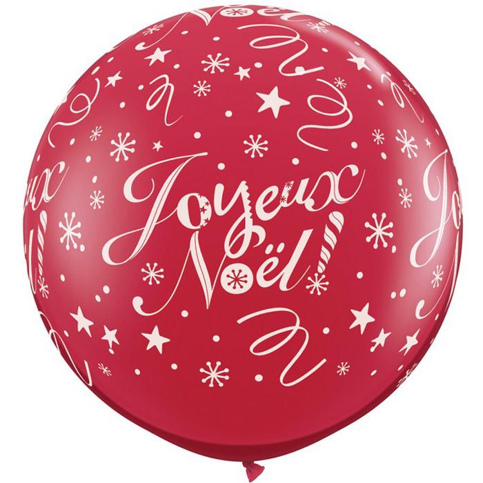 Qualatex Latex Ballons Joyeux Noël Festif Rouge /& Vert 11 in environ 27.94 cm