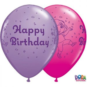 "I11"" 10784 Dora The Explorer Birthday Asst *25b"