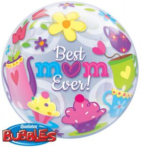Bubble 22″ 11539 Best M(Heart)M Ever! Tea Time *1b