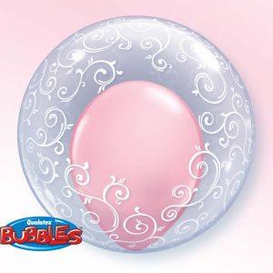 Déco Bubble 24″ 13693 Fancy Filigree *1b