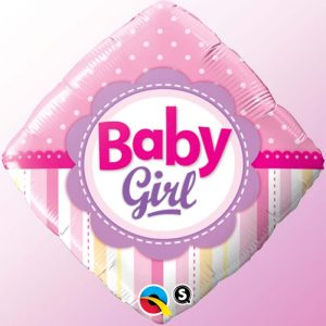 18 Baby Girl Dots & Stripes