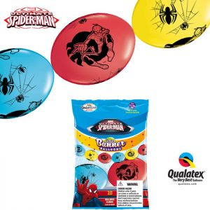 "I12"" 15020 Spider-Man Quick-Link Party Banner *10b"