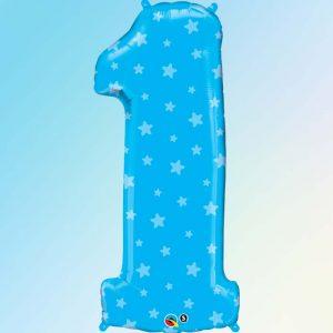 M38″ 16482 Chiffre 1 Blue Stars *1b