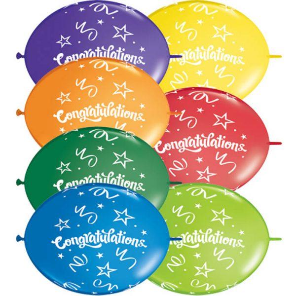 I12 17340 Quick-Link Congratulations Carnival Asst *50ct