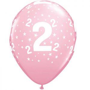 I11″ 17825 Chiffre 2 Pink *6b