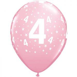 I11″ 17835 Chiffre 4 Pink *6b