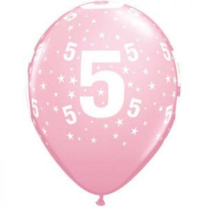 I11″ 17842 Chiffre 5 Pink *6b
