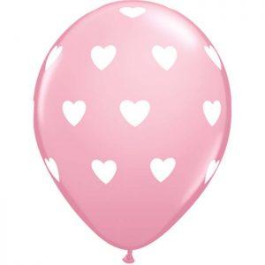 I11″ 18078 Big Hearts Pink *6b