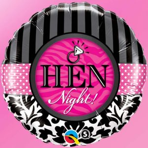 M18 Hen Night ! Damask & Stripes * 1b