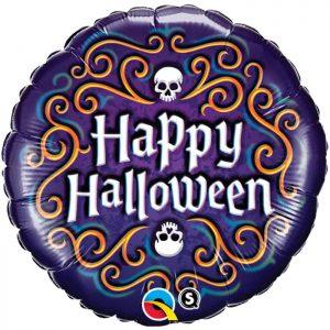 M18 18467 Halloween Skeleton Filigree *1b