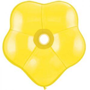 Geo Blossom 6 Yellow