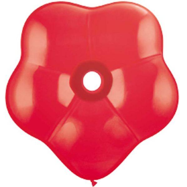 Geo Blossom 6 Red