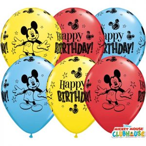 I11 18704 Mickey Mouse Birthday Asst *25b