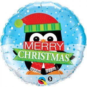 M18 18973 Merry Christmas Penguin *1b