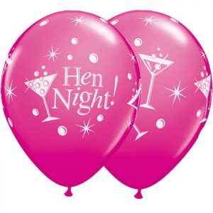 I11″ 19135 Hen Night Bubbly Wild Berry *6b