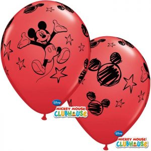 I11″ 19231 Mickey Mouse Disney Rouge 6*6b