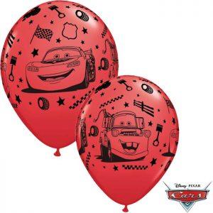 I11″ 19233 Cars Flash McQueen et Martin Rouge *6b