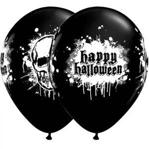 "I11"" 20003 Halloween Haunted Skull Black *6b"