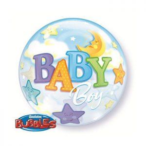 22 Baby Boy Moon & Stars