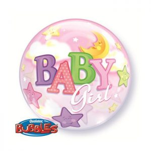 22 Baby Girl Moon & Stars