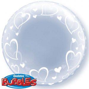 Déco Bubble 24″ 29505 Stylish Hearts *1b