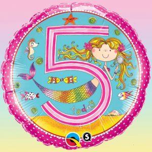 M18 Age 5 Mermaid Polka Dots Licence Rachel Ellen *1b