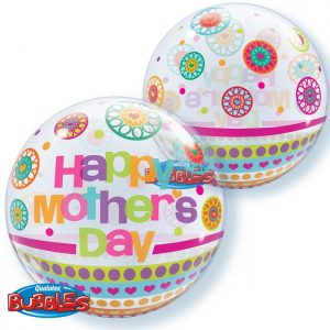 Bubble 22″ 24387 Mother's Day Dots & Patterns *1b