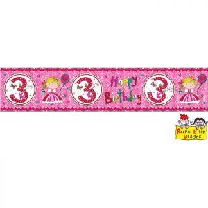 Banner 3 Princesse * 1ct Ref : 25021