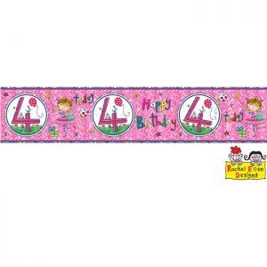 Banner 4 Fée * 1ct Ref : 25023