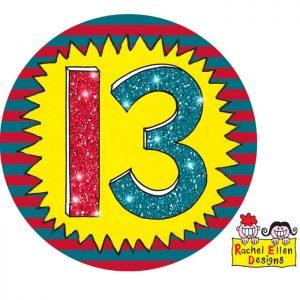 Badge 13 Wow * 1ct Ref : 25796