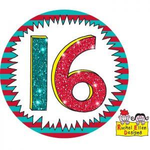Badge 16 Wow * 1ct Ref : 25800