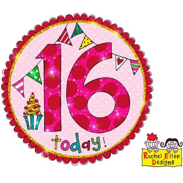 Badge 16 Perfect Pink * 1ct Ref : 25801