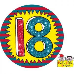 Badge 18 Wow * 1ct Ref : 25802