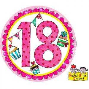 Badge 18 Perfect Pink * 1ct Ref : 25817