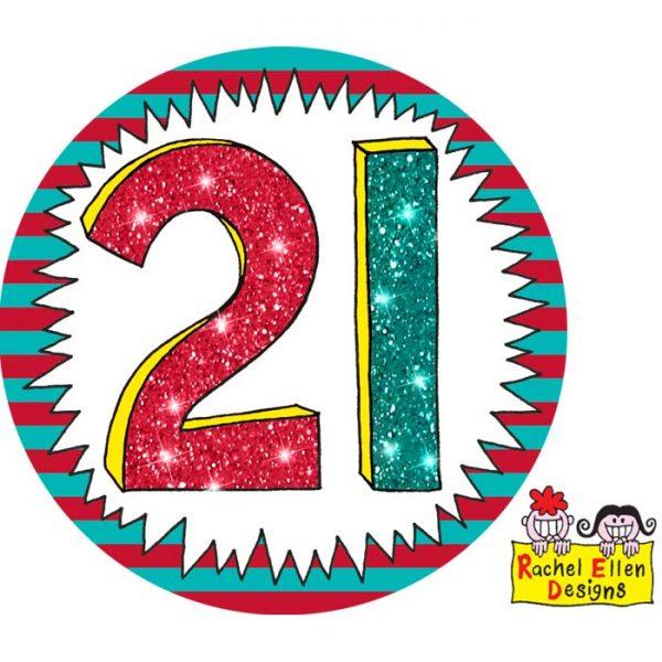 Badge 21 Wow * 1ct Ref : 25819