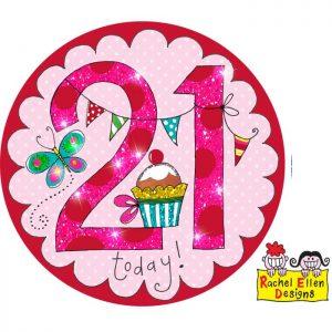 Badge 21 Perfect Pink * 1ct Ref : 25826