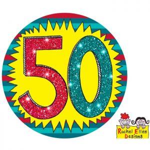 Badge 50 Wow * 1ct Ref : 25836
