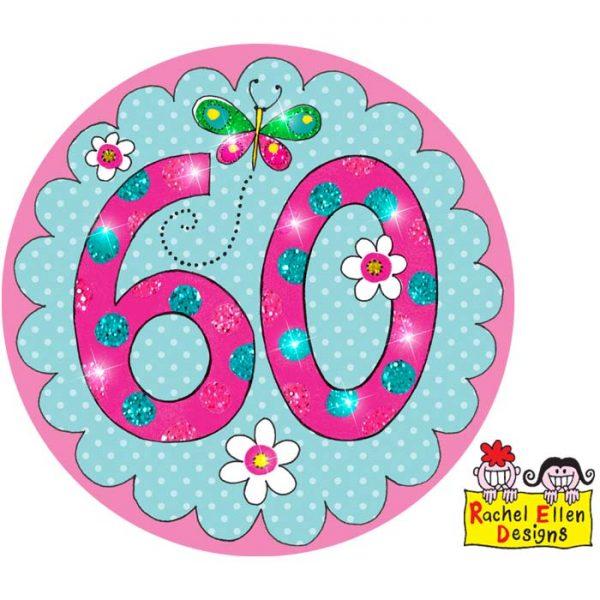 Badge 60 Perfect Pink * 1ct Ref : 25881