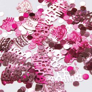 Confetti Happy Birthday Pink 12g *6 sachets Ref : 26841
