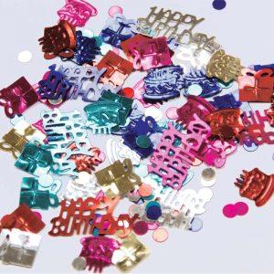 Confetti Happy Birthday Multi-Colore 12g *6 sachets Ref : 26842