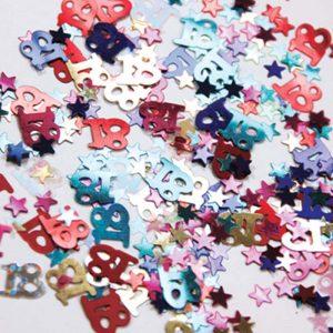 Confetti 18 Multi-colore 12g *6 sachets Ref : 26881