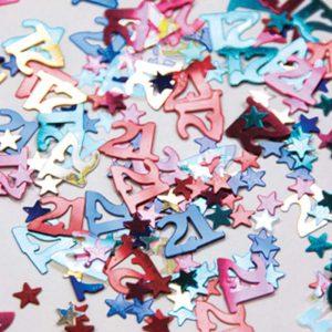 Confetti 21 Multi-colore * 12g Ref : 26882