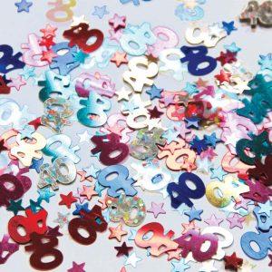 Confetti 40 Multi-colore 12g *6 sachets Ref : 26965
