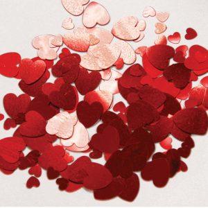 Confetti Coeur Rouge 12g *6 sachets Ref : 27182