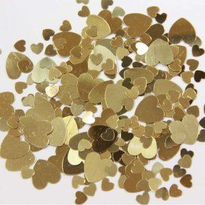 Confetti Coeur Or 12g *6 sachets Ref : 27188