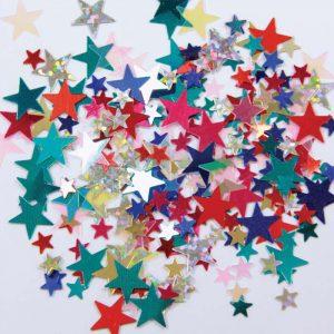 Confetti Etoile Multi-Colore 12g *6 sachets Ref : 27203