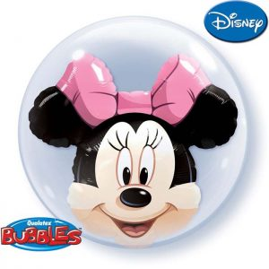 Bubble 24 27568 Minnie Mouse Head *1b